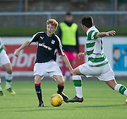 14 year old George Johnston in action for Dundee 20s v Celtic, SPFL Development League at Links Park, Montrose. Photo: David Young<br /> <br />  - &copy; David Young - www.davidyoungphoto.co.uk - email: davidyoungphoto@gmail.com