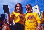 "Billy Carter is momentarily distracted at the kick off for Billy Beer on October 31, 1977. William Alton - Billy - Carter (March 29, 1937 – September 25, 1988) was an American farmer, businessman, brewer, and politician, and the younger brother of U.S. President Jimmy Carter. Carter promoted Billy Beer and was a candidate for mayor of Plains, Georgia. Carter was born in Plains, Georgia, to James Earl Carter Sr. and Lillian Gordy Carter. He was named after his paternal grandfather and great-grandfather, William Carter Sr. and William Archibald Carter Jr. respectively. He attended Emory University in Atlanta but did not complete a degree. He served four years in the United States Marine Corps, then returned to Plains to work with his brother in the family business of growing peanuts. In 1955, at the age of 18, he married Sybil Spires (b. 1939), also of Plains. They were the parents of six children: Kim, Jana, William ""Buddy"" Carter IV, Marle, Mandy, and Earl, who was 12 years old when his father died."