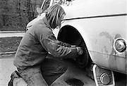 Renovering av bromsar på en Volvo Amazon