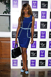 Sinitta at Style for Stroke - launch party held at No. 5 Cavendish Square, London, England, October 2, 2012. Photo by Chris Joseph / i-Images.