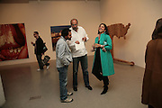 Riyas Komu, Sharanbir Britnath and Mrs. Kalpana Brijnath., Other,Riyas Komu and Peter Drake. - VIP  launch of Aicon. London's largest contemporary Indian art gallery. Heddon st. and afterwards ant Momo.15 Marc h 2007.  -DO NOT ARCHIVE-© Copyright Photograph by Dafydd Jones. 248 Clapham Rd. London SW9 0PZ. Tel 0207 820 0771. www.dafjones.com.