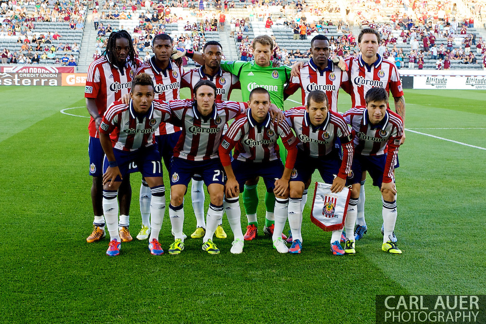 August 18th, 2012: The Chivas USA team poses for a team shot prior to the start of their match against the Colorado Rapids at Dick's Sporting Goods Park