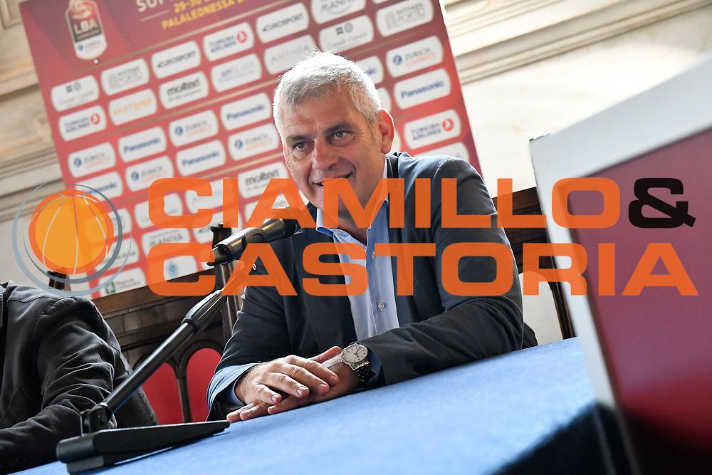 brambilla<br /> presentazioe supercoppa 2018<br /> Legabasket Serie A 2018/19<br /> Brescia, 24/09/2018<br /> Ciamillo-Castoria