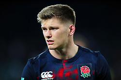 Owen Farrell of England - Mandatory byline: Patrick Khachfe/JMP - 07966 386802 - 26/11/2016 - RUGBY UNION - Twickenham Stadium - London, England - England v Argentina - Old Mutual Wealth Series.