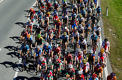 Peloton during the Men Under 23 Road Race 179.9km Race from Kufstein to Innsbruck 582m at the 91st UCI Road World Championships 2018 / RR / RWC / on September 28, 2018 in Innsbruck, Austria.  Photo by Vid Ponikvar / Sportida