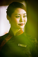 A portrait of a concierge at the Caravelle Hotel in Ho Chi Minh City, Vietnam.