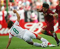 Ali Karimi, Deco Portugal<br /> Fussball WM 2006 Portugal - Iran<br /> Norway only