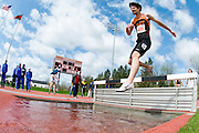 2009/5/2 - RIT's Dereck Bojanowski competes in the 3000 meter Steeplechase at the New York State Collegiate Track Conference Championships at St. Lawrence University.