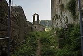 Kosmati Kastle, ruins near Motovun