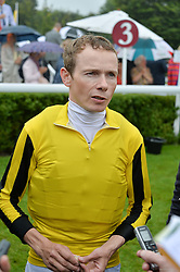 Jockey JAMIE SPENCER at day 3 of the Qatar Glorious Goodwood Festival at Goodwood Racecourse, Chechester, West Sussex on 28th July 2016.