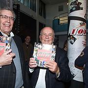 NLD/Hilversum/20150102 - Top40 viert 50 jarig bestaan, Jan van Veen en Willem van Kooten