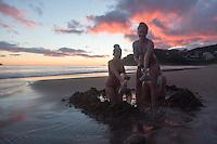 hotwater beach coromandel peninsula sunrise photos