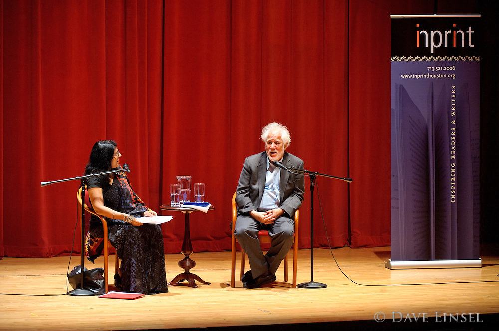 "Michael Ondaatje reads from his latest novel, ""The Cat's Table"", during a reading sponsored by Inprint at the Moore Opera House on the University of Houston campus, October 10, 2011, in Houston."