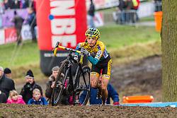 Jolien Verschueren (BEL), Women, Cyclo-cross World Cup Hoogerheide, The Netherlands, 25 January 2015, Photo by Thomas van Bracht / PelotonPhotos.com