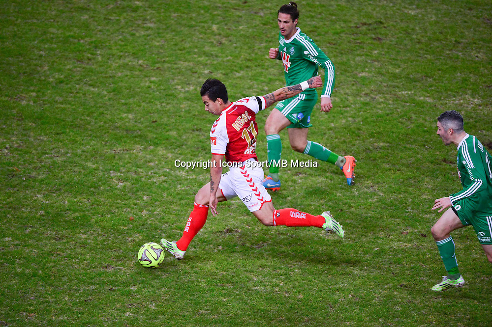 Rodrigues DIEGO RIGONATO  - 10.01.2015 - Reims / Saint Etienne - 20eme journee de Ligue 1<br />