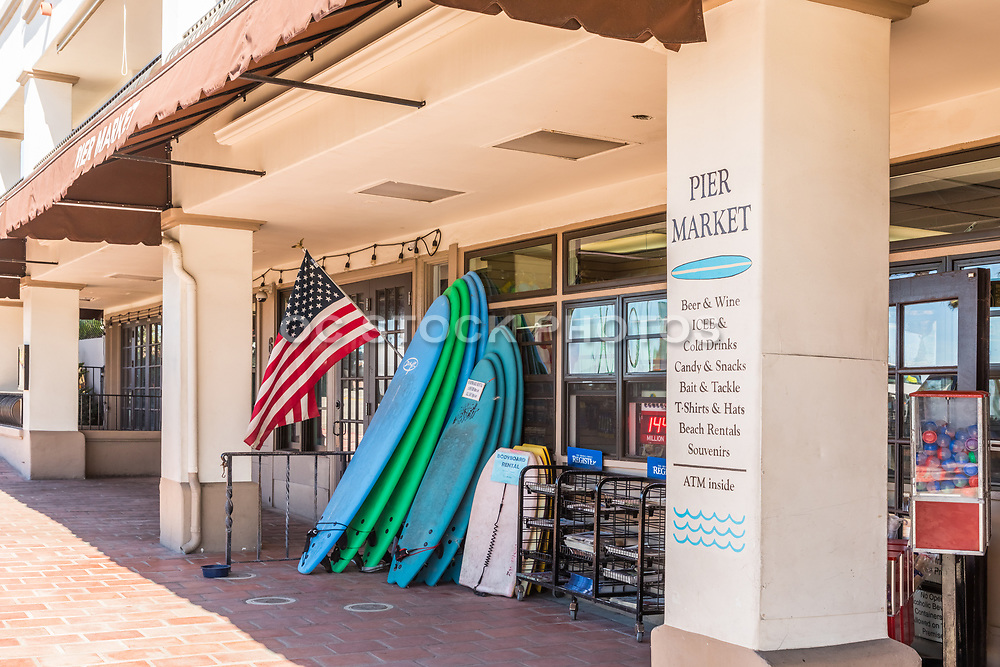 Pier Market in Downtown San Clemente at the Pier Bowl