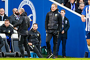 Sheffield Wednesday Manager Garry Monk during the The FA Cup match between Brighton and Hove Albion and Sheffield Wednesday at the American Express Community Stadium, Brighton and Hove, England on 4 January 2020.