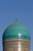 Uzbekistan, Bukhara. Kalon Ensemble. Mir-i-Arab Medressa.