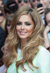 ©Licensed to i-Images Picture Agency. 01/08/2014. London, . RED CARPET ARRIVALS AT THE X FACTOR 2014. Cheryl Cole arrives at the X-Factor auditions at Wembley Arena. Picture by Daniel Leal-Olivas / i-Images
