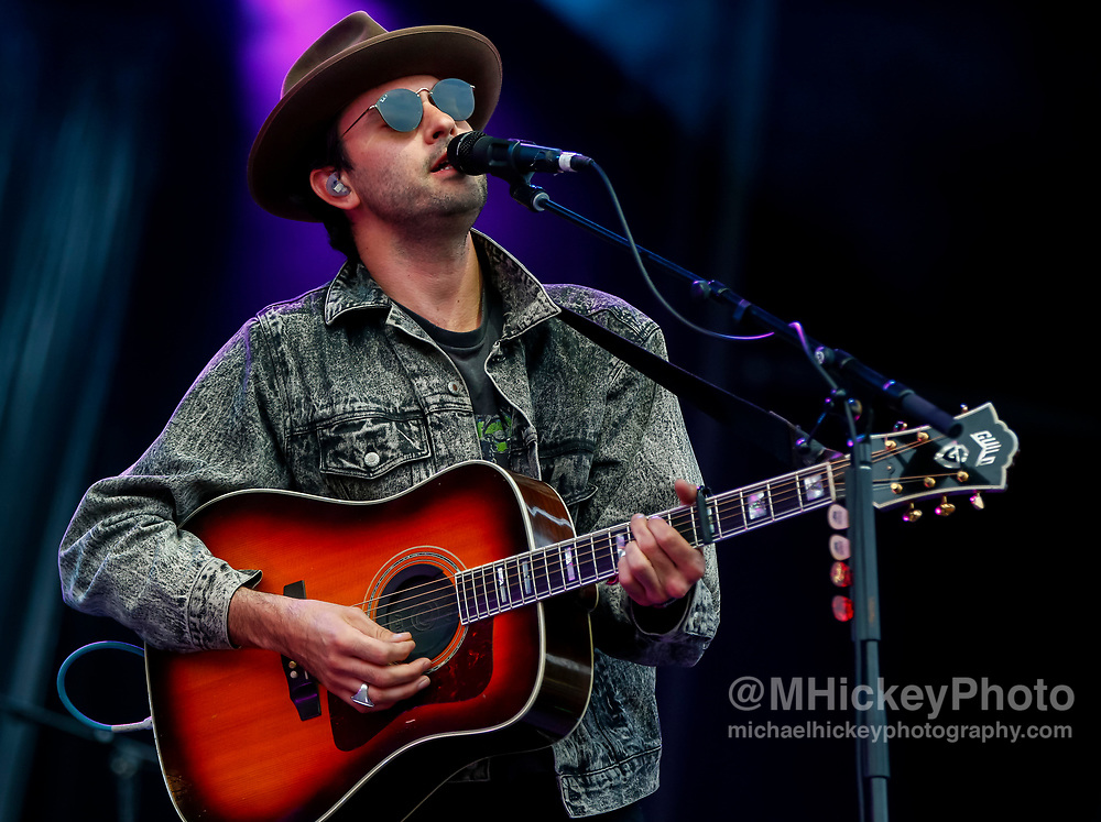 CHICAGO, IL - AUGUST 05: Josiah Johnson of The Head and the Heart performs at Grant Park on August 5, 2017 in Chicago, Illinois. (Photo by Michael Hickey/Getty Images) *** Local Caption *** Josiah Johnson