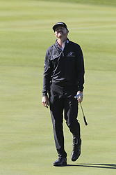 October 20, 2018 - Jeju, SOUTH KOREA - Oct 20, 2018-Jeju, South Korea-JIMMY WALKER of USA reaction on the 3th green during the PGA Golf CJ Cup Nine Bridges Round 3 at Nine Bridges Golf Club in Jeju, South Korea. (Credit Image: © Ryu Seung-Il/ZUMA Wire)