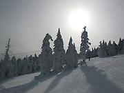 Early November skiing at Killington, VT
