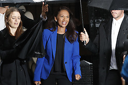 © Licensed to London News Pictures. 24/09/2019. London, UK. GINA MILLER is seen arriving at the The Supreme Court in London where a verdict is expected on an appeal against a judicial review of Boris Johnson's suspension of Parliament. The case has been brought by remain campaigner Gina Miller, with support from former British Prime Minister John Major. Photo credit: Peter Macdiarmid/LNP
