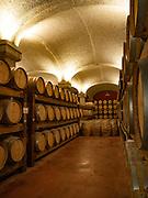 Barrel cellar at Argiolas