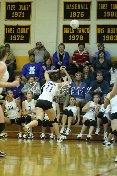 MCHS Varsity Volleyball .vs Rappahannock .District Semi-Finals  .10/30/2008