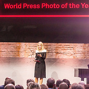 NLD/Amsterdam/20180412 - Prins Constantijn en Prinses Laurentien aanwezig bij uitreiking World Press Photo of the Year, Dionne Stax