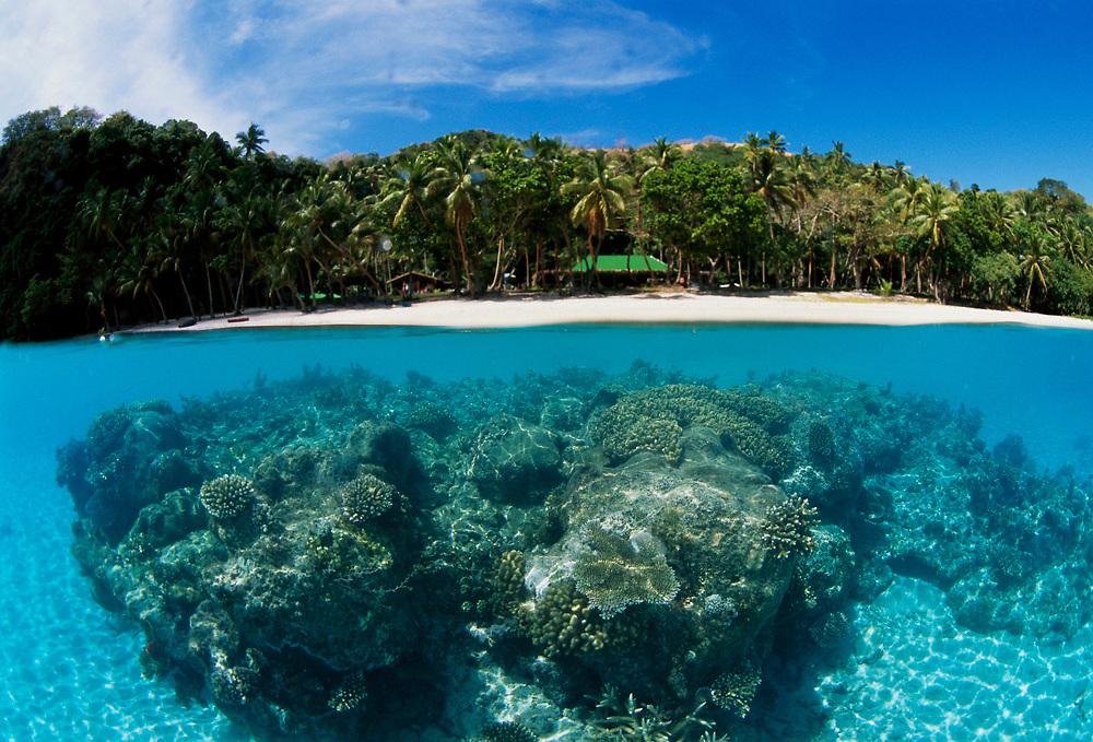 Yanuca Island in Beqa Lagoon, Pacific Harbor, Viti Levu, Fiji Islands