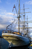 Sweden, Stockholm. Tall Ships Race Stockholm 2007. Statsraad Lehmkuhl.