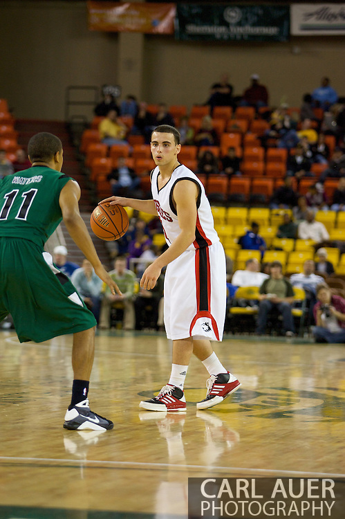 November 26, 2008: Northern Illinois guard Mike DiNunno (11) in game two of the 2008 Great Alaska Shootout at the Sullivan Arena.