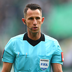 28.10.2018, Allianz Stadion, Wien, AUT, 1. FBL, SK Rapid Wien vs FC Flyeralarm Admira, 12. Runde, im Bild Alexander Harkam (Schiedsrichter, Referee) // during Austrian Football Bundesliga Match, 12th Round, between SK Rapid Vienna and FC Flyeralarm Admira at the Allianz Arena, Vienna, Austria on 2018/10/28. EXPA Pictures © 2018, PhotoCredit: EXPA/ Thomas Haumer
