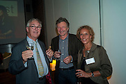 TOM CHANDOS; LORD HOLLICK; LADY HOLLICK, Free Word, the UKÕs first house of literature, literacy and free expression  opens. Farringdon Rd. London. 15 September 2009<br /> TOM CHANDOS; LORD HOLLICK; LADY HOLLICK, Free Word, the UK?s first house of literature, literacy and free expression  opens. Farringdon Rd. London. 15 September 2009