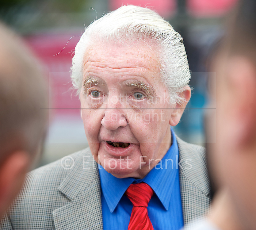 Labour Party Conference <br /> at Manchester Central, Manchester, Great Britain <br /> 23rd September 2014 <br /> <br /> <br /> Dennis Skinner MP<br /> <br /> <br /> Photograph by Elliott Franks <br /> Image licensed to Elliott Franks Photography Services