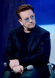 Bono at The Business And Political Leaders Attend Clinton Global Initiative Annual Meeting in New York, September 19th 2016.