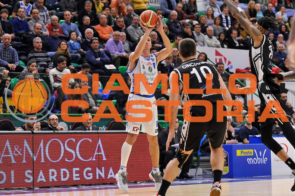 SASSARI 08 Gennaio 2017<br /> Banco di Sardegna Dinamo Sassari - Pasta Reggia Juve Caserta<br /> NELLA FOTO Giacomo Devecchi<br /> FOTO CIAMILLO