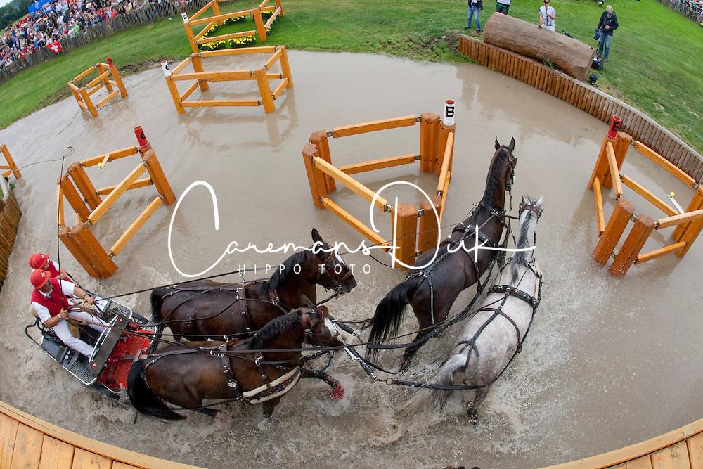 Wurgler Daniel (SUI)<br /> World Equestrian Festival, CHIO Aachen 2011<br /> &copy; Hippo Foto - Dirk Caremans