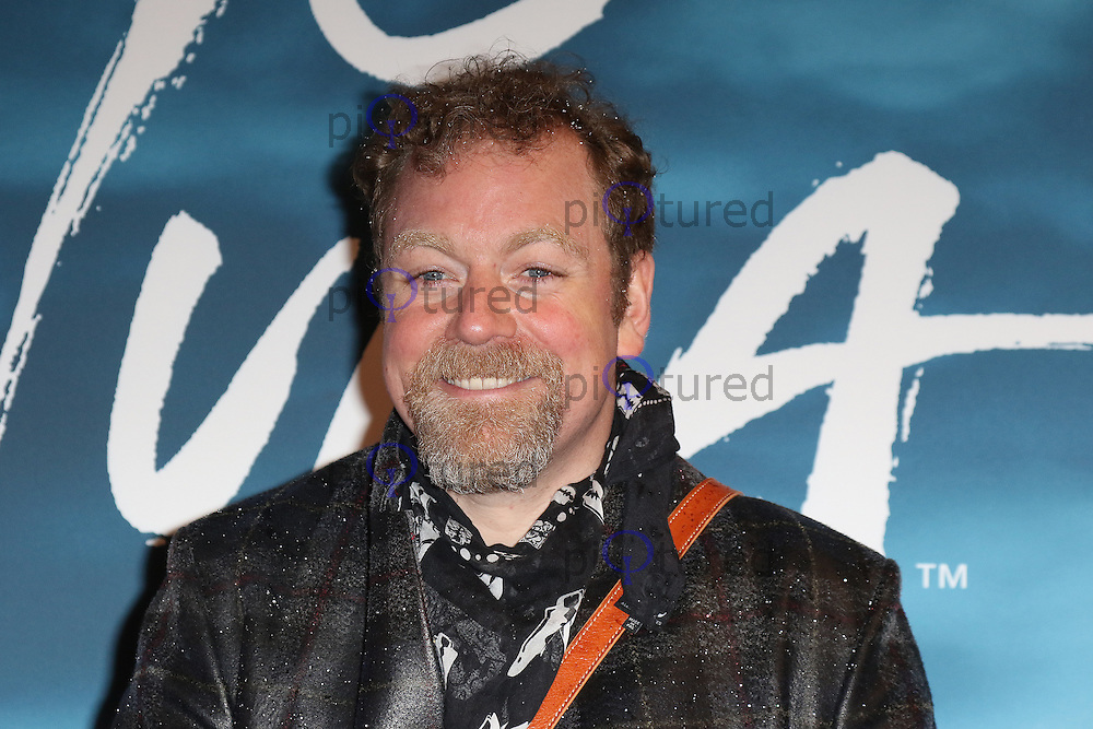 Rufus Hound, Cirque du Soleil Amaluna - opening night, Royal Albert Hall, London UK, 12 January 2017, Photo by Richard Goldschmidt