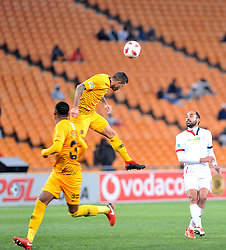 11/08/2018:Johannesburg, Kaizer Chiefs player Daniel Cardoso defending against Free State Stars during the MTN8 quarter-final clash held at FNB stadium.7177<br /> Picture: Matthews Baloyi/AFrican News Agency (ANA)