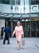 The Andrew Marr Show <br /> at the BBC, Broadcasting House, London, Great Britain <br /> 9th September 2018 <br /> <br /> <br /> <br /> Gisela Stuart, chair of Vote Leave 2016<br /> <br /> <br /> Photograph by Elliott Franks