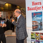 NLD/Amsterdam/20190909 - Boekpresentatie Baantjer, Igone de Jongh krijgt eerste exemplaar van Peter Romer