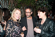 HELEN FIELDING; DAVID BADDIEL, Party for Perfect Lives by Polly Sampson. The 20th Century Theatre. Westbourne Gro. London W11. 2 November 2010. -DO NOT ARCHIVE-© Copyright Photograph by Dafydd Jones. 248 Clapham Rd. London SW9 0PZ. Tel 0207 820 0771. www.dafjones.com.