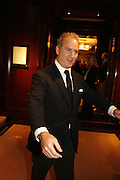 CHARLES FINCH, Elizabeth Saltzman, Tracey Emin and Charles Finch cocktails in support of Dream Auction Full stop in aid of NSPCC. Ralph Lauren. 21 March 2006. ONE TIME USE ONLY - DO NOT ARCHIVE  © Copyright Photograph by Dafydd Jones 66 Stockwell Park Rd. London SW9 0DA Tel 020 7733 0108 www.dafjones.com