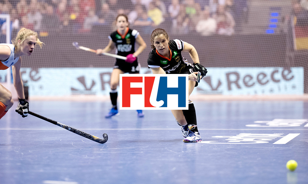 BERLIN - Indoor Hockey World Cup<br /> Final: Netherlands - Germany<br /> foto: Luisa Steindor.<br /> WORLDSPORTPICS COPYRIGHT FRANK UIJLENBROEK