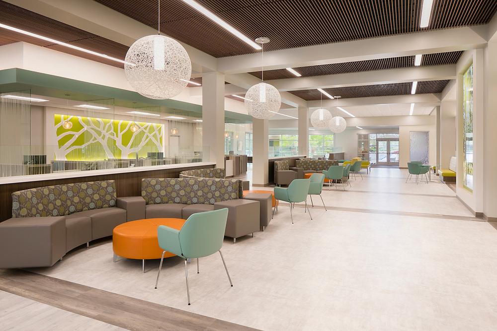 Kaiser Roseville Behavioral Health Interiors