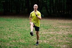 Blaz Strozer - Priprave na 22. Ljubljanski maraton 2017 v okviru akcije Predani korakom; Maribor, Slovenia, on September 27, 2017. Photo by Vid Ponikvar / Sportida