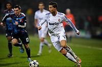 FOOTBALL - CHAMPIONS LEAGUE 2010/2011 - 1/8 FINAL - 1ST LEG - OLYMPIQUE LYONNAIS v REAL MADRID - 22/02/2011 - PHOTO GUY JEFFROY / DPPI - CRISTIANO RONALDO (REAL)