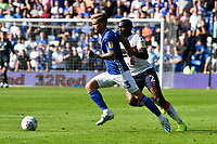 Football - 2019 / 2020 Sky Bet (EFL) Championship - Cardiff City vs. Middlesbrough<br /> <br /> Joe Bennett of Cardiff City & Anfernee Dijksteel of Middlesbrough , at the Cardiff City Stadium.<br /> <br /> COLORSPORT/WINSTON BYNORTH